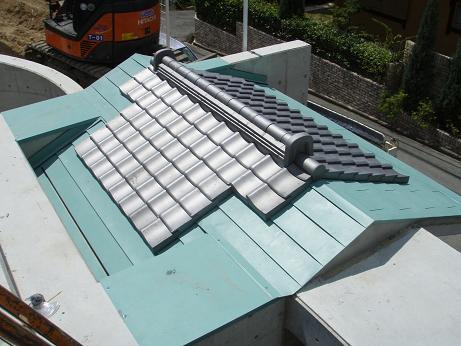 神戸市北区Y様邸 日本瓦の施工紹介