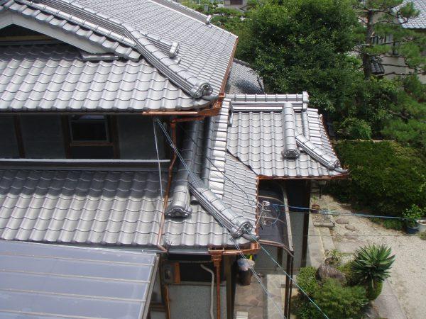 大阪茨木市T様邸 瓦交換